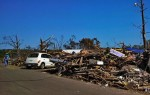 Tornado Damage in Mayflower 1